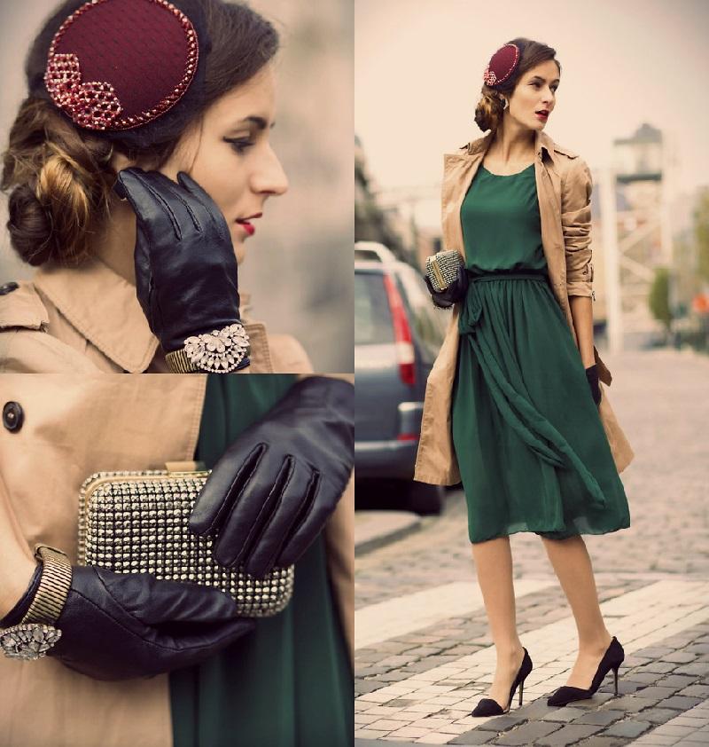 wear vintage clothes